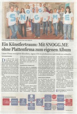 SNOGG.ME Upper Austrian Newspaper